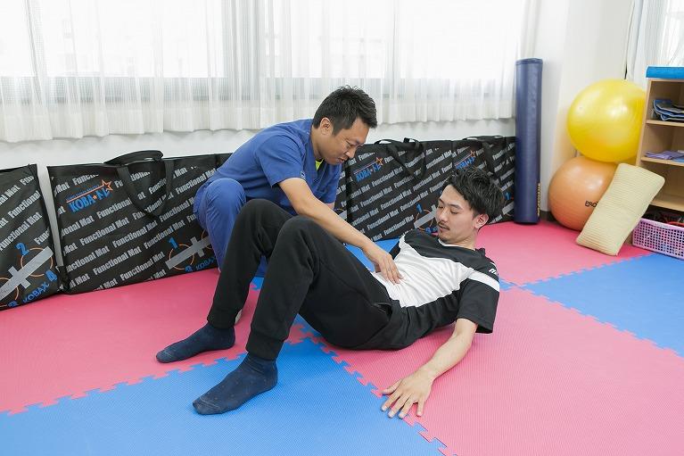 スポーツ障害の治療が得意